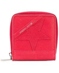 Golden Goose Deluxe Brand Star Logo Wallet - Red