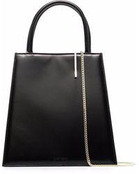 Dheygere Clip-detail Tote Bag - Black
