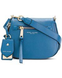 Marc Jacobs Small Recruit Nomad Saddle Bag - Blue