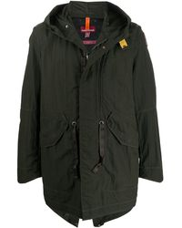 Parajumpers Masterpiece Hooded Coat - Green
