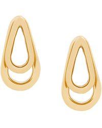 Annelise Michelson Double Ellipse Earrings - Metallic