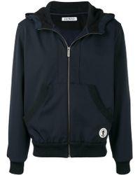 Dirk Bikkembergs - Zipped Hooded Jacket - Lyst