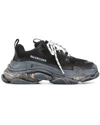 Balenciaga Triple S Sneakers - Zwart