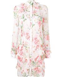 Philipp Plein - Floral Shirt Dress - Lyst