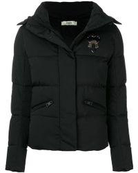 Fendi - Karlito-appliqué Padded Jacket - Lyst