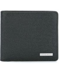 BOSS by Hugo Boss クラシック 二つ折り財布 - ブラック