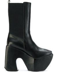 Marques'Almeida - Open Toe Platform Boots - Lyst