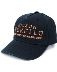 Frankie Morello Maison Baseball Cap - Blue