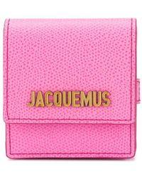 Jacquemus Мини-сумка Le Sac С Ручкой-браслетом - Розовый