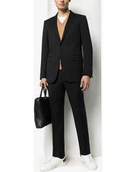 Ermenegildo Zegna ツーピース テーラードスーツ - ブラック