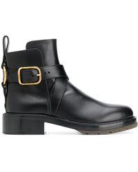 Chloé Ботинки Diane - Черный
