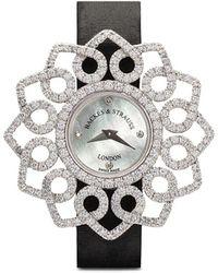 Backes & Strauss Наручные Часы Victoria Brilliant Red Rose 36 Мм - Белый
