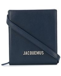 Jacquemus Schultertasche mit Logo - Blau