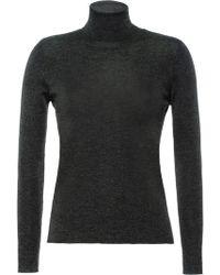 Prada タートルネックセーター - グレー