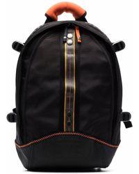 Parajumpers Uni Logo-print Multi-pocket Backpack - Black