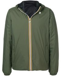 K-Way - Jacques Hooded Jacket - Lyst