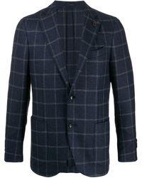 Lardini - チェック スーツ - Lyst