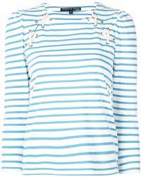 Veronica Beard - ストライプ Tシャツ - Lyst