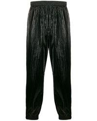 Givenchy Shiny Wide-leg Pants - Black