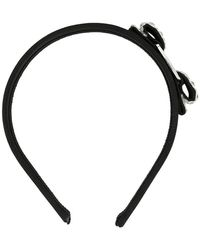 Ferragamo - Embellished Vara Head Band - Lyst