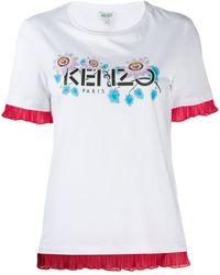 KENZO - Passion Flower Tシャツ - Lyst