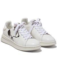 Marc Jacobs X Peanuts 'the Tennis Shoe' スニーカー - ホワイト