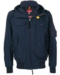 Parajumpers Hooded Raincoat - Blue