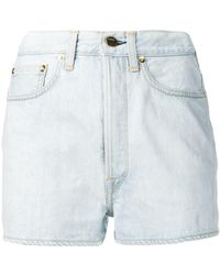 Golden Goose Deluxe Brand - Slim-fit Denim Shorts - Lyst