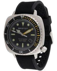 Briston 'Clubmaster Diver Pro' Armbanduhr, 42mm - Schwarz