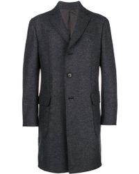 Z Zegna - Longsleeved Jacket Coat - Lyst