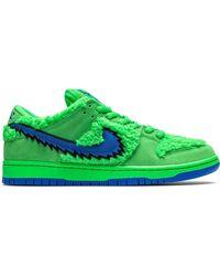 Nike Кроссовки Sb Dunk Low Из Коллаборации С Grateful Dead - Зеленый