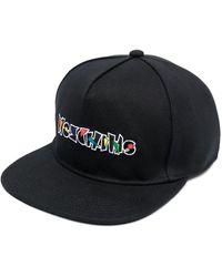 Moschino Бейсболка С Вышитым Логотипом - Черный