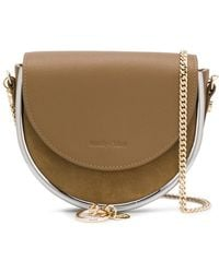 See By Chloé Charm-detail Crossbody Bag - Green