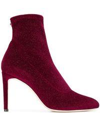 Giuseppe Zanotti - Celeste Glittery Sock Boots - Lyst
