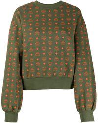 MCM ロゴ スウェットシャツ - グリーン