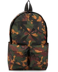 Off-White c/o Virgil Abloh Camouflage-print Backpack - Multicolor