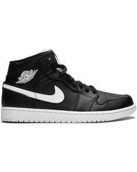 Nike 'Air 1 Mid' Sneakers - Schwarz