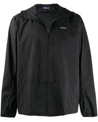 Patagonia Houdini Hooded Jacket - Black