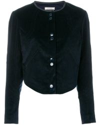 Nina Ricci - Fitted And Cropped Jacket - Lyst