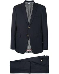 Thom Browne ツーピース スーツ - ブルー