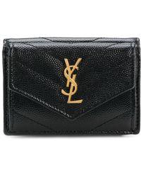 Saint Laurent - Small Bill Wallet - Lyst