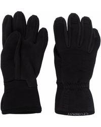 C.P. Company Fleece-panelled Gloves - Black