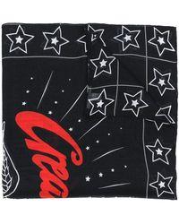 Givenchy Sjaal Met Sterrenprint - Zwart