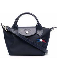 Longchamp Le Pliage Trés ハンドバッグ - ブルー