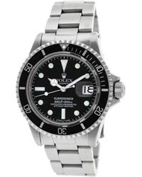 Rolex 1977 Pre-owned Submariner 40mm - Black