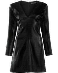Haney - Long Sleeved Mini Dress - Lyst