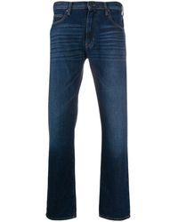 Emporio Armani Mid Rise Slim Fit Jeans - Blue