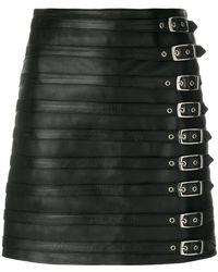 Manokhi - Multi Buckle Skirt - Lyst