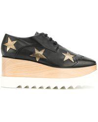 Stella McCartney Silver Stars Elyse Shoes - Black