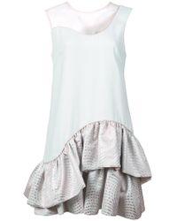 Nha Khanh - Ruffled Skirt Dress - Lyst